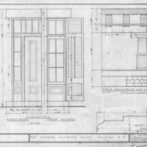 Details, Richard Bennehan Haywood House, Raleigh, North Carolina