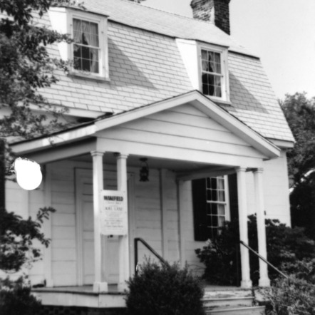 Front view, Joel Lane House, Raleigh, North Carolina