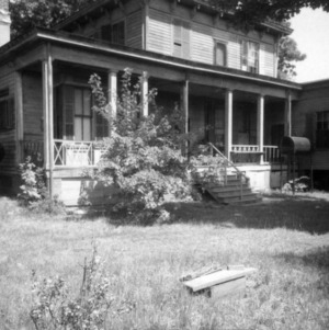 View with porch, Wynne House, Raleigh, North Carolina