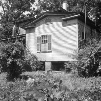 Side view, Wynne House, Raleigh, North Carolina