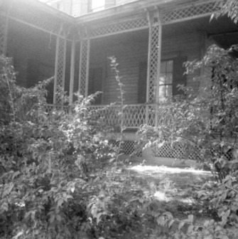 Porch, Wynne House, Raleigh, North Carolina