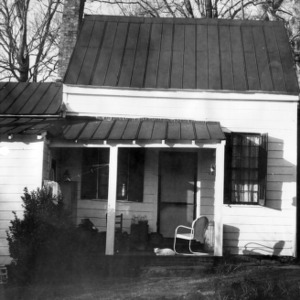 Front view with porch, Cameron-Nash Law Office, Hillsborough, North Carolina