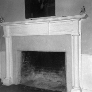 Fireplace, Cedar Grove, Mecklenburg County, North Carolina