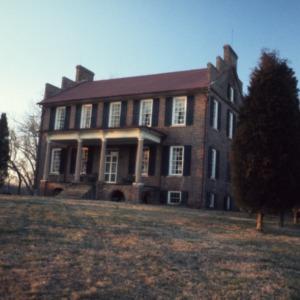 Front view, Cedar Grove, Mecklenburg County, North Carolina