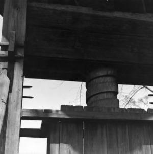 Structural detail, Norfleet Cotton Press, Tarboro, North Carolina
