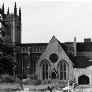 Side view, St. James Episcopal Church, Wilmington, North Carolina