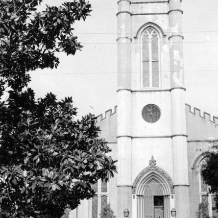 Front view, St. James Episcopal Church, Wilmington, North Carolina