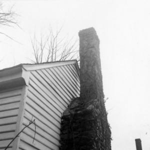 Chimney, Thomas Ruffin Law Office, Hillsborough, North Carolina