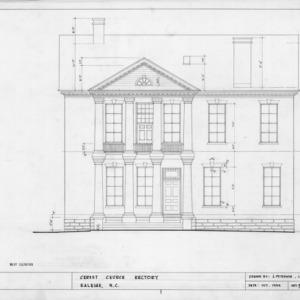 West elevation, State Bank of North Carolina, Raleigh, North Carolina