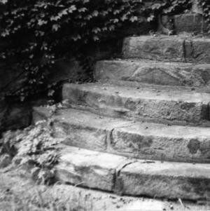 Stair detail, State Bank of North Carolina, Raleigh, North Carolina