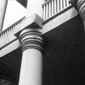 Column detail, State Bank of North Carolina, Raleigh, North Carolina