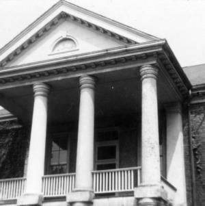 Porch, State Bank of North Carolina, Raleigh, North Carolina
