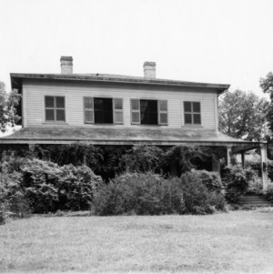 Front view, Dortch House, Raleigh, North Carolina