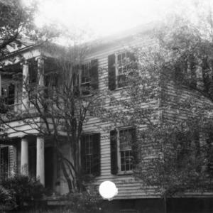 View, Mordecai House, Raleigh, North Carolina