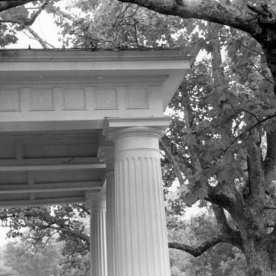 Column detail, William Smith House, Ansonville, North Carolina