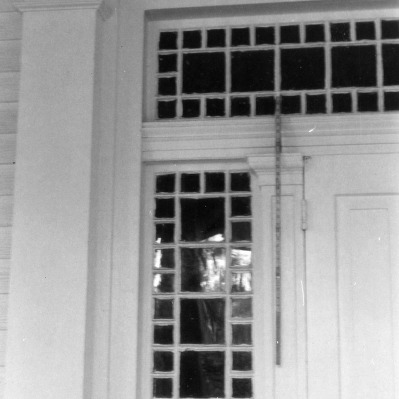 Door detail, William Smith House, Ansonville, North Carolina