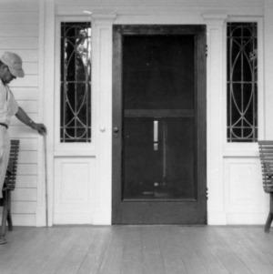 Door, William Smith House, Ansonville, North Carolina
