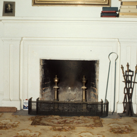 Fireplace, William Smith House, Ansonville, Anson County, North Carolina
