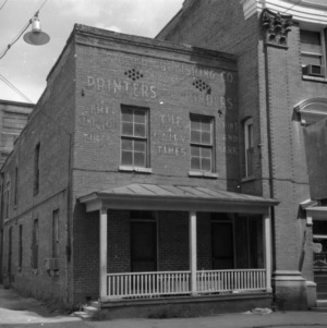 View, Old Wilson Daily Times Building, Wilson, North Carolina