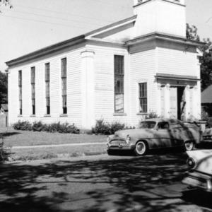 Side view, Primitive Baptist Church, Goldsboro, North Carolina