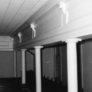 Gallery, Primitive Baptist Church, Goldsboro, North Carolina