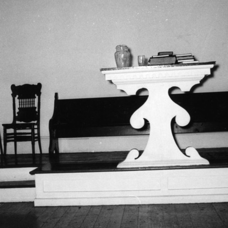 Altar, Primitive Baptist Church, Goldsboro, North Carolina