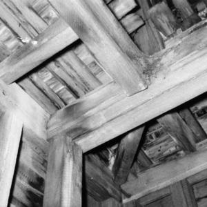 Structural detail, Primitive Baptist Church, Goldsboro, North Carolina