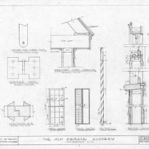 Details, Asheboro Female Academy, Asheboro, North Carolina