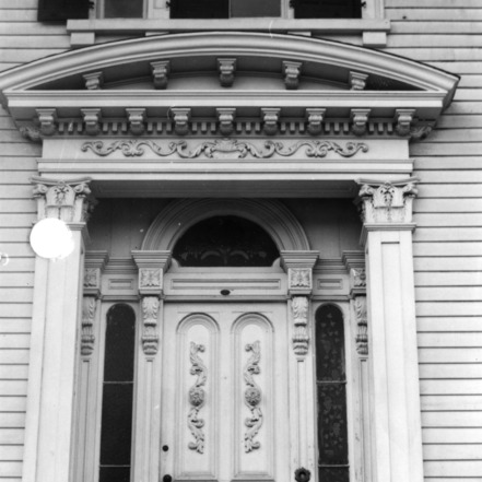Front doors, Bellamy Mansion, Wilmington, North Carolina