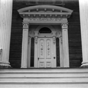 Entrance, Bellamy Mansion, Wilmington, North Carolina