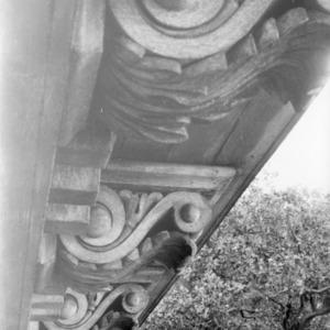 Exterior detail, Bellamy Mansion, Wilmington, North Carolina