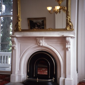 Fireplace, Bellamy Mansion, Wilmington, New Hanover County, North Carolina