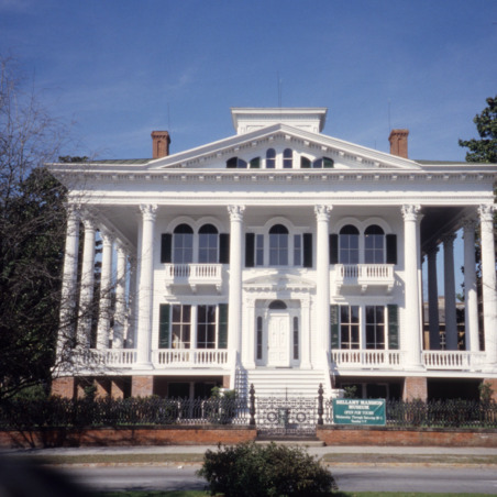 Front view, Bellamy Mansion, Wilmington, New Hanover County, North Carolina