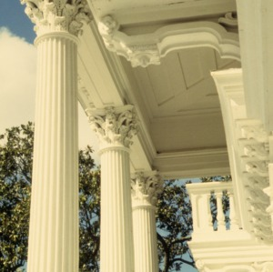 Partial view, Bellamy Mansion, Wilmington, New Hanover County, North Carolina