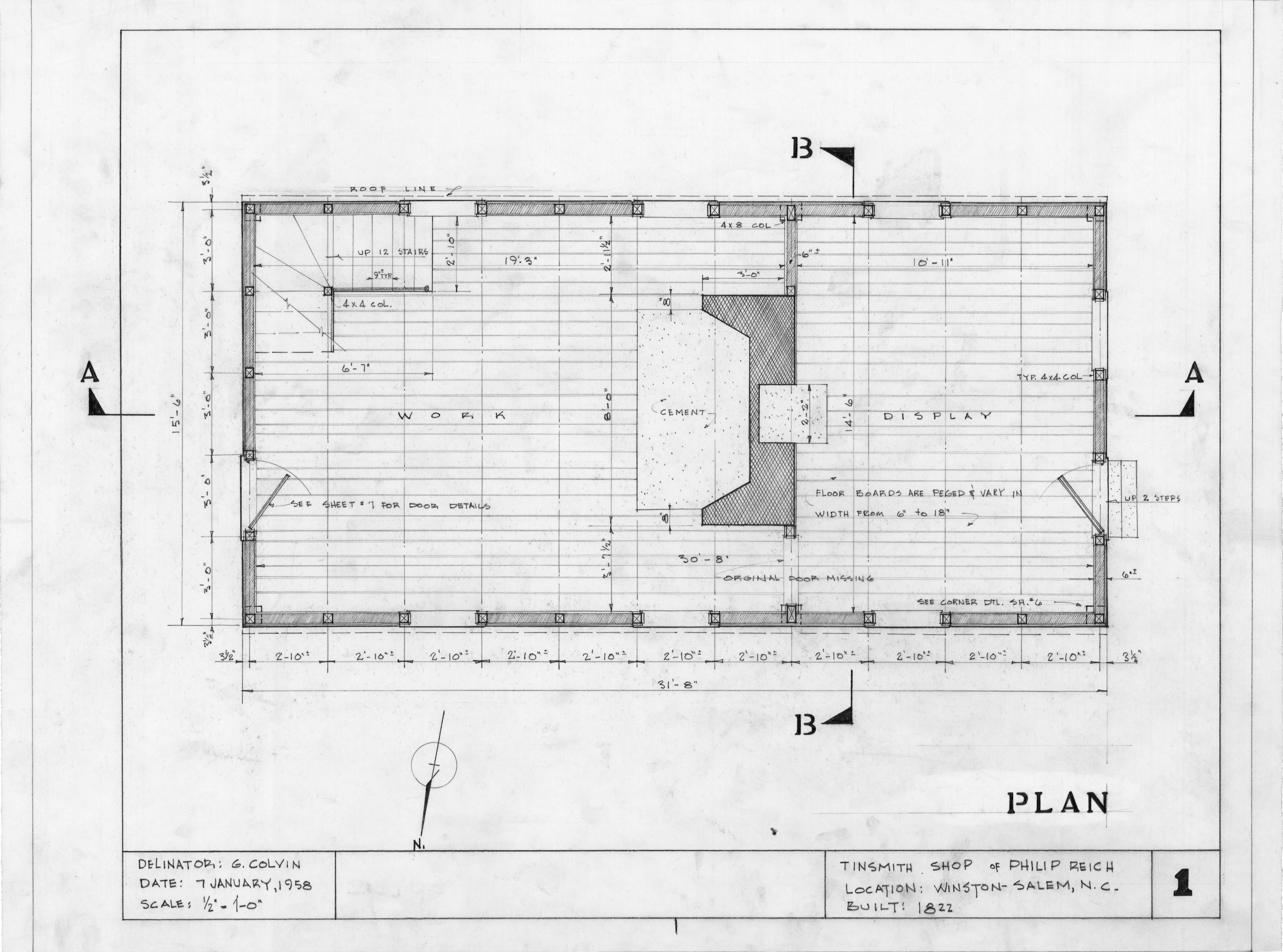 floor plan philip reich house and shop winston salem north carolina house shop attached pictures amp plans post yours here pirate4x4 com