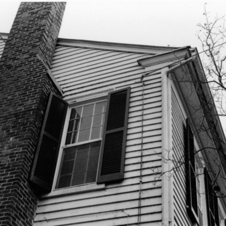 Side view with chimney, Benjamin Battle House, Rocky Mount, North Carolina