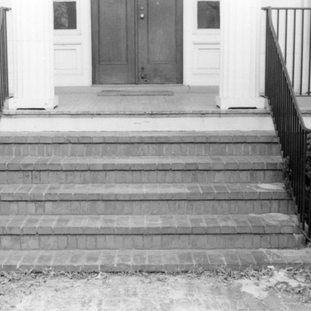 Stairs, Benjamin Battle House, Rocky Mount, North Carolina