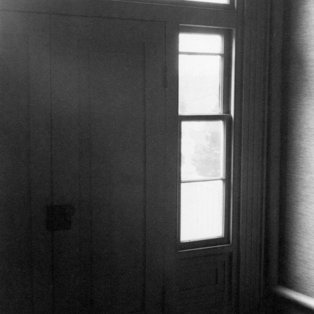 Interior entrance detail, Benjamin Battle House, Rocky Mount, North Carolina
