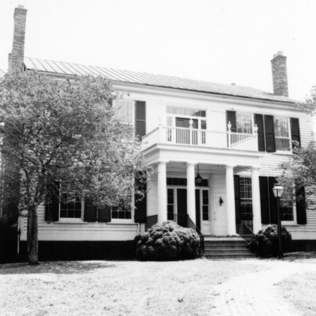 Front view, Benjamin Battle House, Rocky Mount, North Carolina