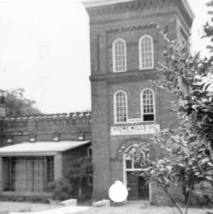 Front view, McAden Mill No. 2, McAdenville, North Carolina