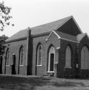 View, St. Mary's Episcopal Church, Orange County, North Carolina
