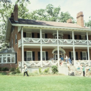 Front view, Smith-McDowell House, Asheville, North Carolina