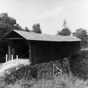 View, Randolph Bridge No. 52, Randolph County, North Carolina