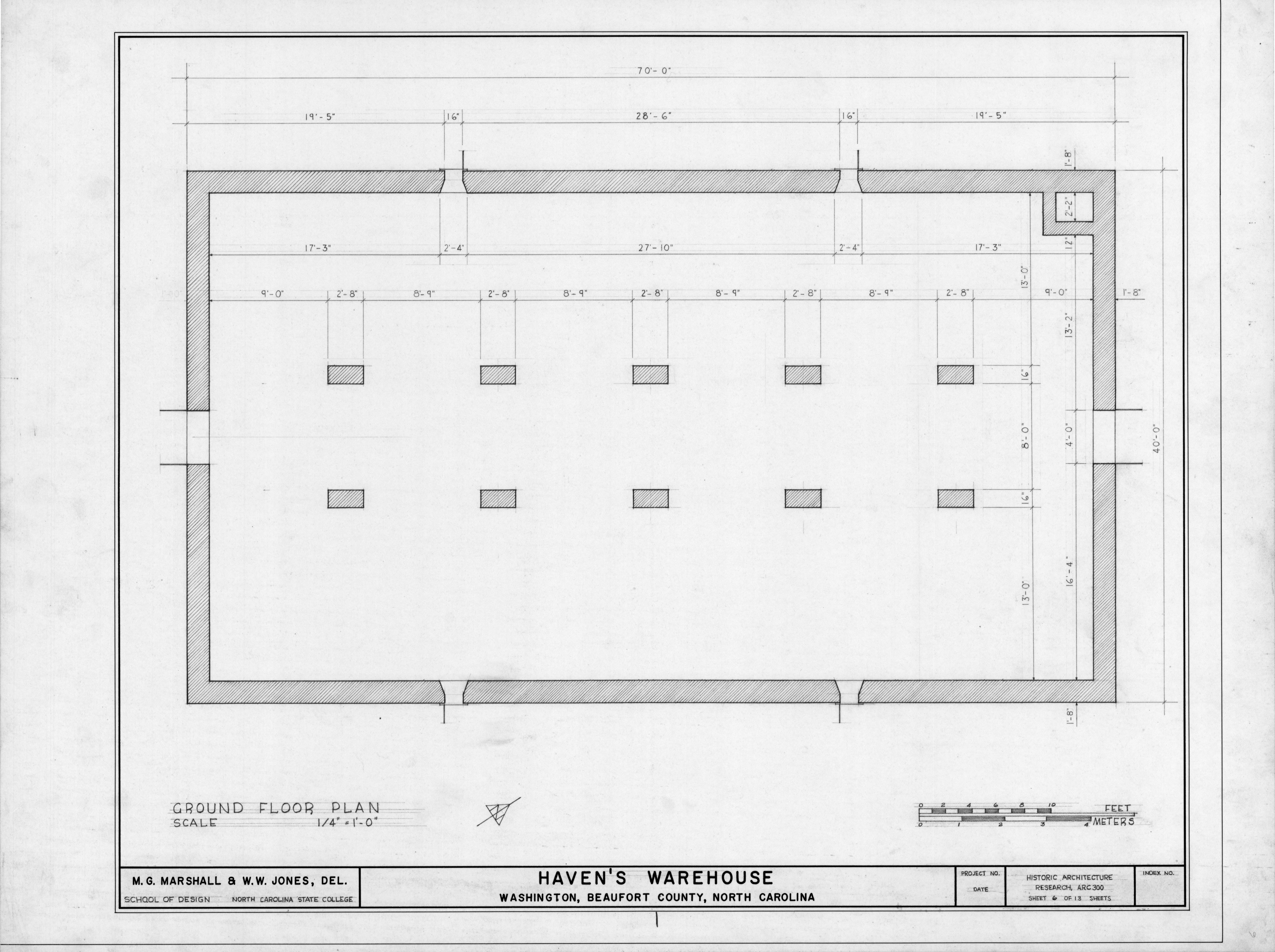 First Floor Plan Havens Warehouse Washington North