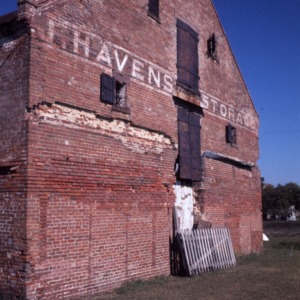 Partial view, Havens Warehouse, Washington, Beaufort County, North Carolina