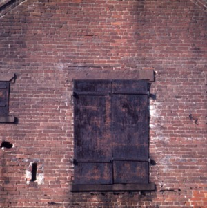 Exterior detail, Havens Warehouse, Washington, Beaufort County, North Carolina