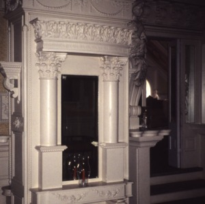 Interior detail, Korner's Folly, Kernersville, Forsyth County, North Carolina