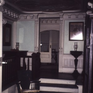Interior view, Korner's Folly, Kernersville, Forsyth County, North Carolina