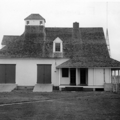 Side view, Caffey's Inlet Lifesaving Station, Dare County, North Carolina
