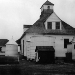 Rear view, Caffey's Inlet Lifesaving Station, Dare County, North Carolina